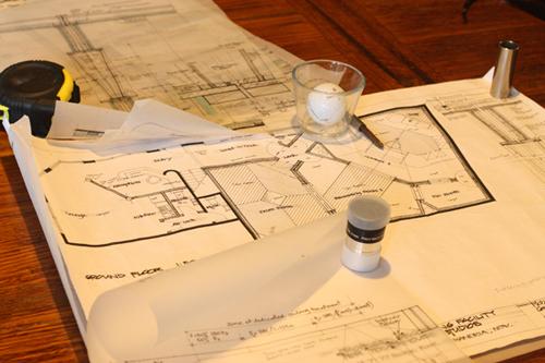 Studio construction blueprints LR