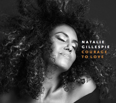 Natalie Gillespie - Courage To Love CD Cover LR