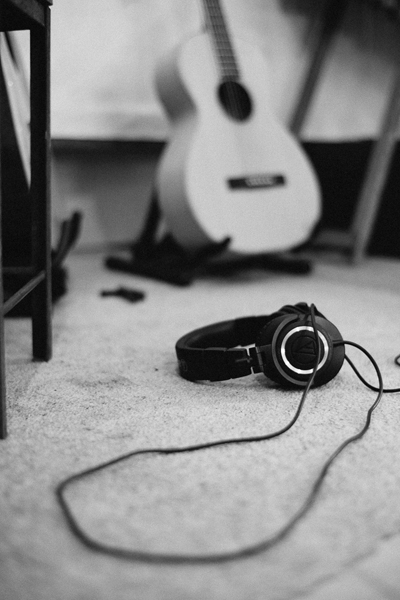 Headphones and Acoustic LR